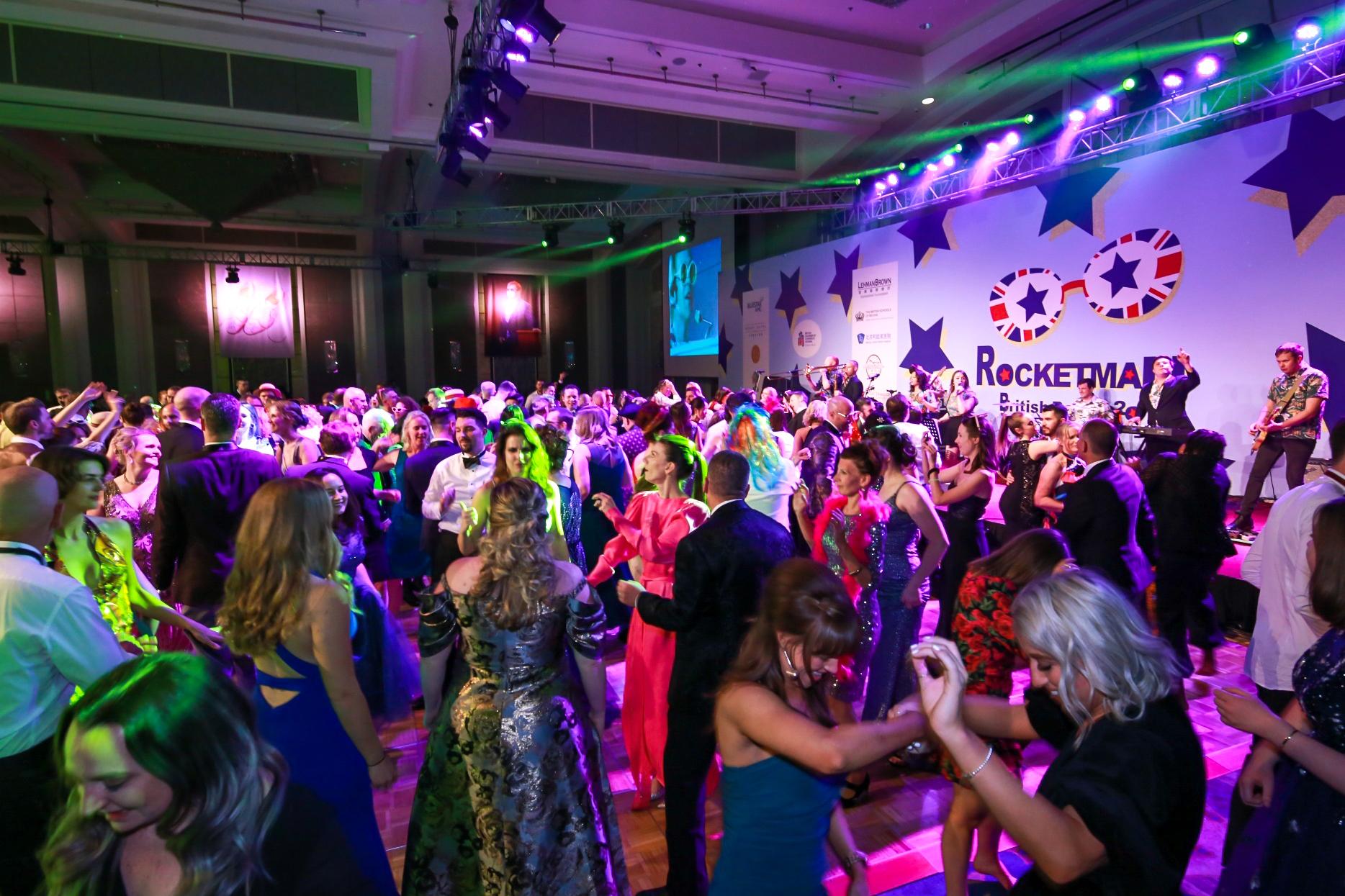 British Ball 2020 guests dancing
